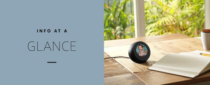 Amazon Echo Spot: A Smart Visual Echo, just Launched