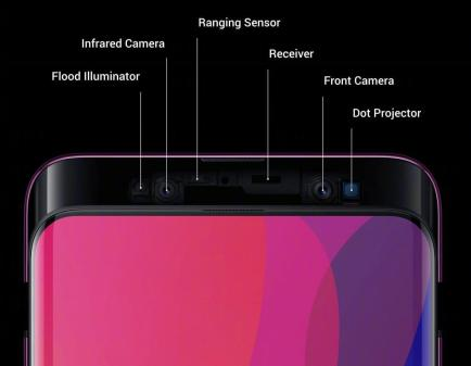 Oppo Find X : Find More with 93.8% screen-to-body ratio