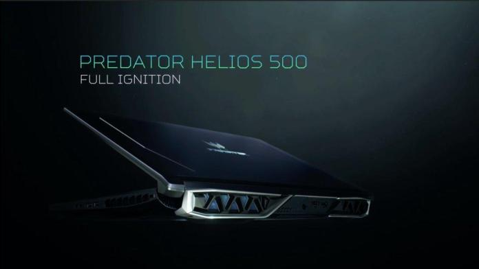 Acer Predator Helios 500 with Core i9 & Ryzen Launched