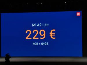 Xiaomi Mi A2 and A2 Lite Launched With Base Variant At 179€