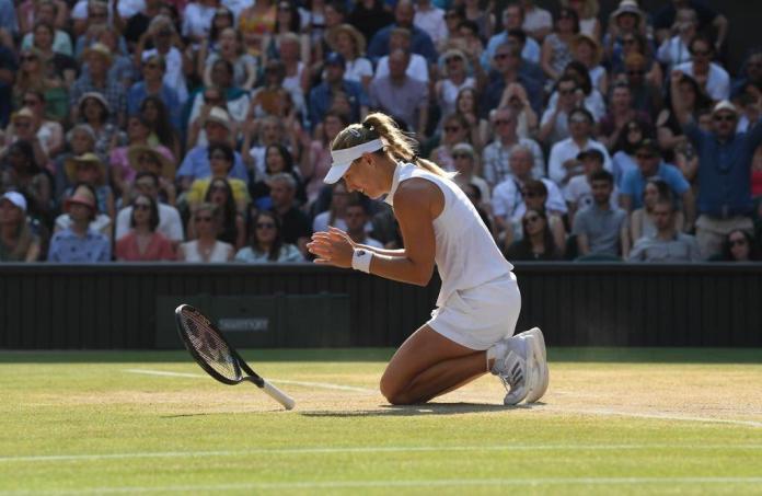 Kerber's Dream Comes True beating Serena Williams