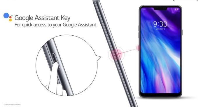 LG G7+ ThinQ_Google Assistant Key_technosports.co.in