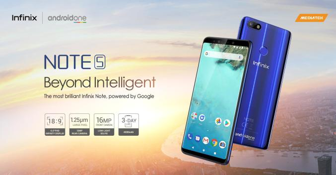 Infinix Note 5 [Android One]: See Specs, Price & Details