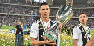 Ronaldo wins the Supercoppa