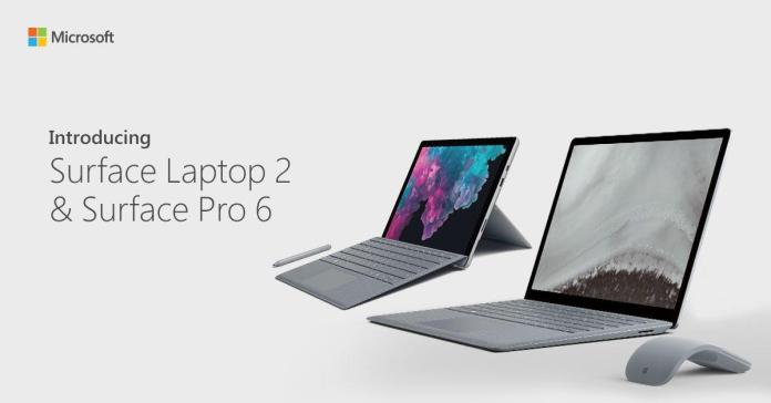 Microsoft launches the new Surface Laptop 2 & Surface Pro 6 in India
