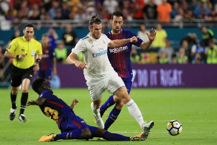 Bale against Barcelona