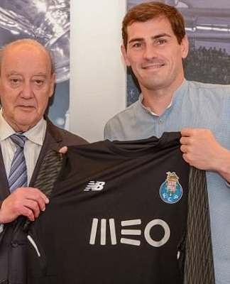 Casillas at Porto
