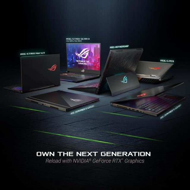 ASUS launches new gaming laptops with RTX graphics in India