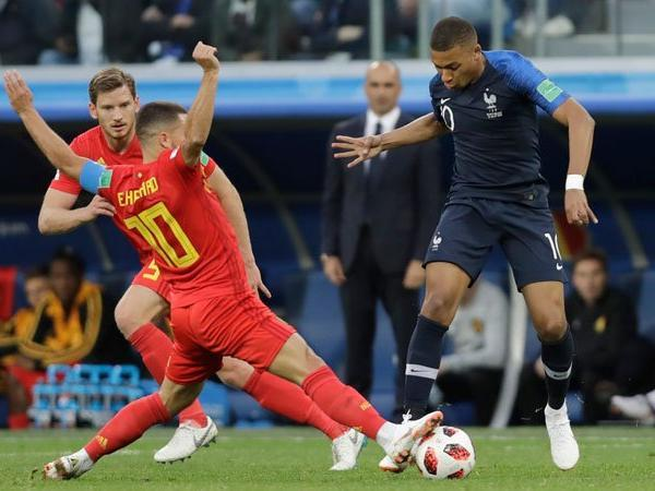 Mbappe and Hazard