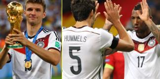 Muller, Boateng and Hummels