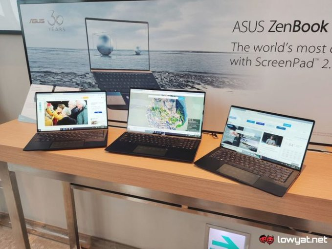 ASUS launches next-gen ZenBook series with touchpad-turned-ScreenPad