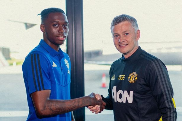Wan-Bissaka and Solakjaer