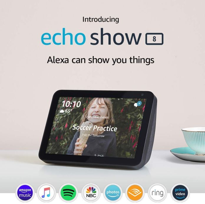 Amazon launches new Echo Studio and Echo Show 8