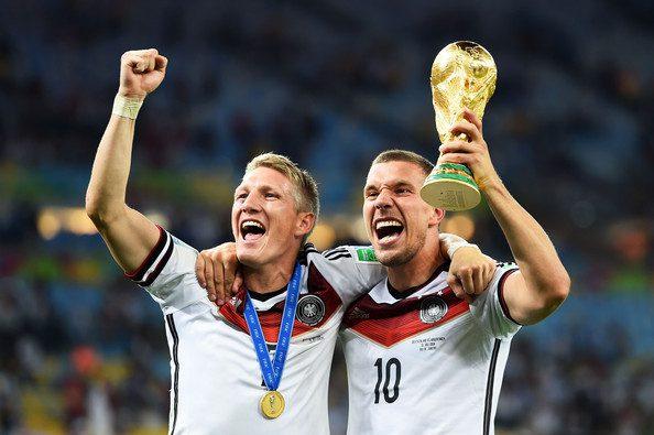 schweinsteiger and Podolski