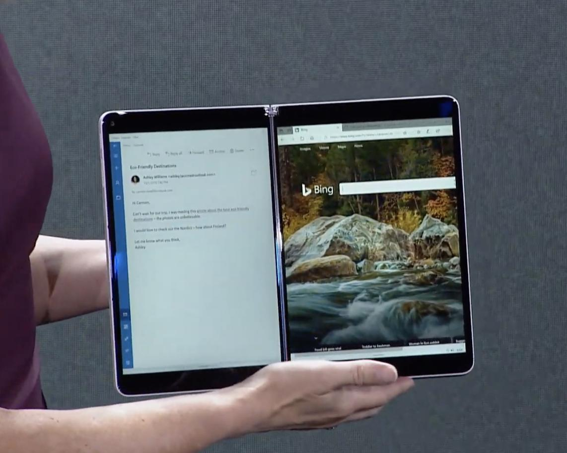 Microsoft Surface Neo is a foldable Windows 10X tablet that redefines computing