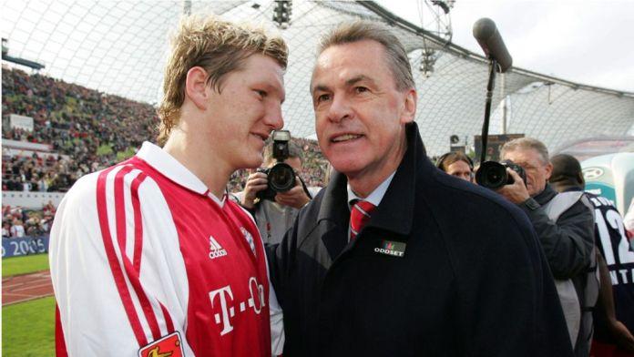 schweinsteiger and hitzfeld