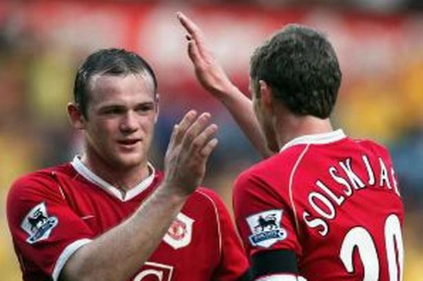 rooney and solakjaer