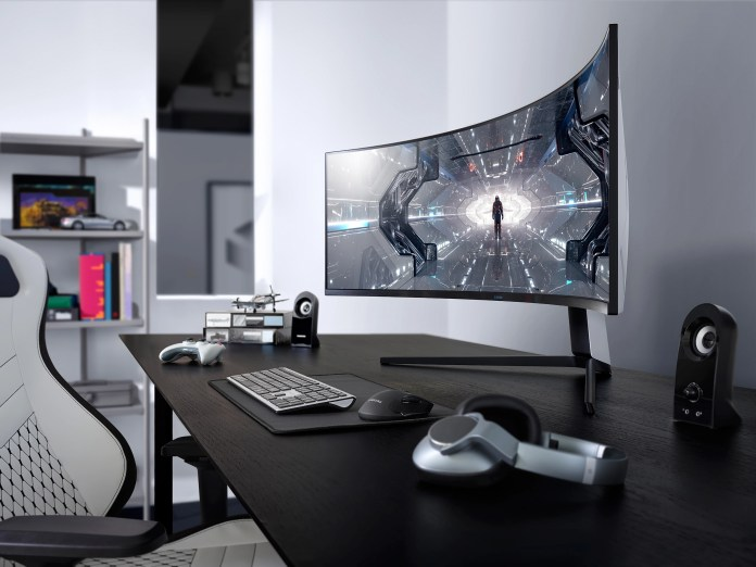 CES 2020: Samsung Odyssey G9, G7 QLED curved gaming monitors launched