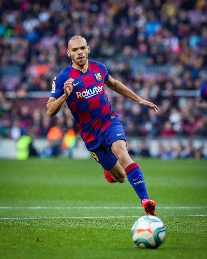 Quique Setien impressed with Martin Braithwaite's Barcelona debut