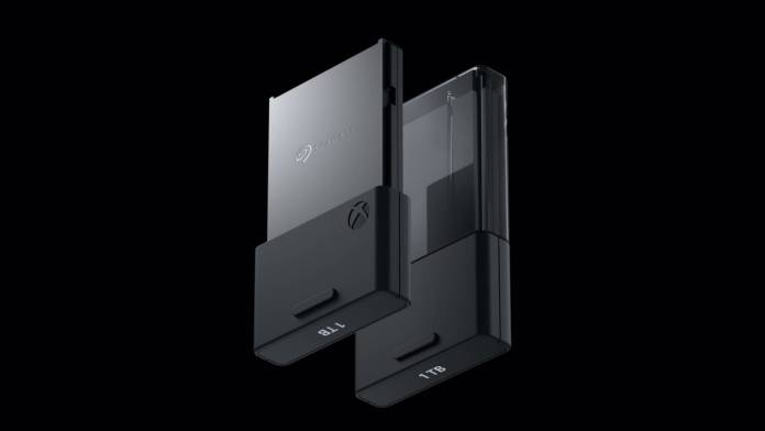 Microsoft Xbox Series X removable storage system detailed