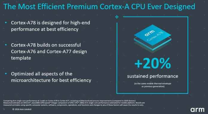 ARM Cortex-A78 & Cortex-X1 cores launched for 2021 flagship smartphones