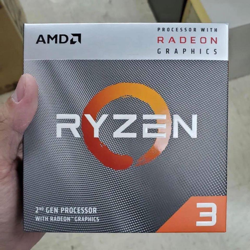 AMD ships Ryzen 5 3600 CPUs in Ryzen 3 3200G packages in China