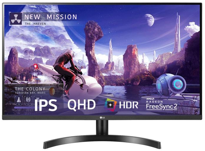 LG QHD 32-inch IPS Display now available for ₹ 27,998 on Amazon Prime Day
