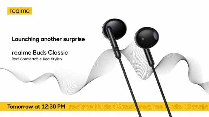 Realme Buds Classic launching alongside Relme C15 and Realme C12 on 18th August