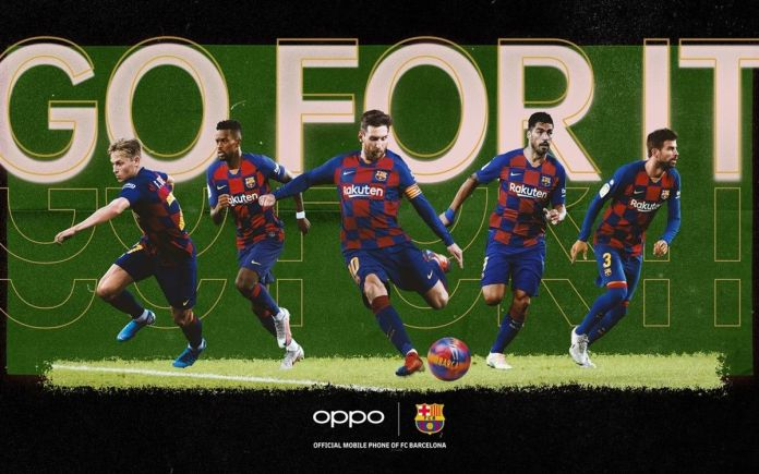 "OPPO launches new ""Go for it"" digital campaign for Barça fans"