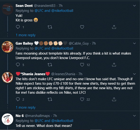 Here's how Liverpool fans react to their new 2020-21 season home jersey