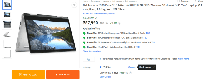 Best selling Intel laptops gets dBest selling Intel laptops gets discounted on Flipkart's Big Saving Daysiscounted on Flipkart's Big Saving Days