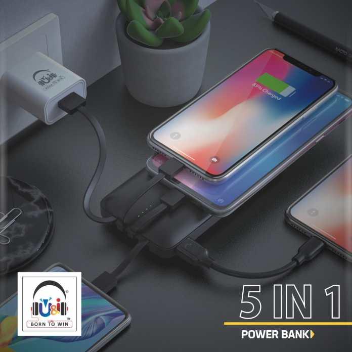 "U&i launches ""Check"" Power bank with 10000 mAh charging capacity"