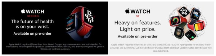 Apple Watch Series 6 and Apple Watch SE are available for pre-booking_TechnoSports.co.in