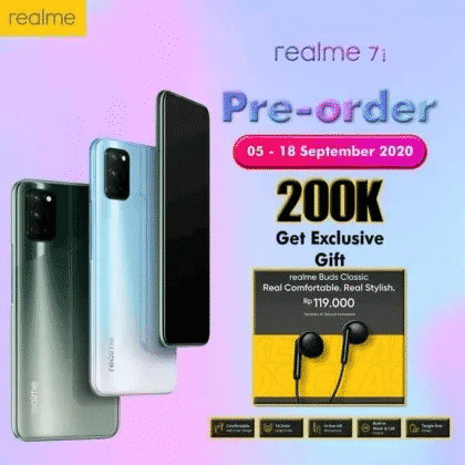 Realme 7i Set to Launch on 17th September; Specs Leaked Online