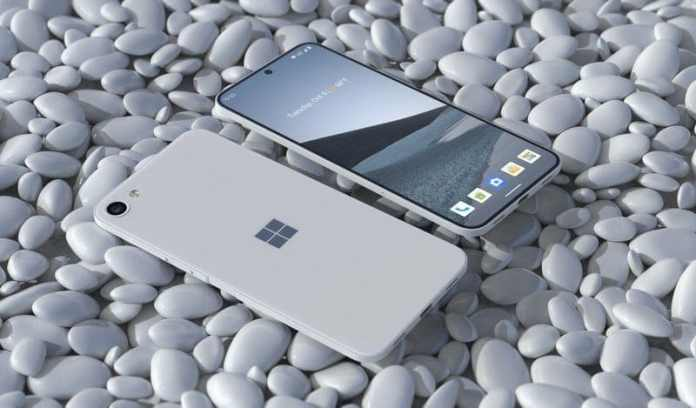 Microsoft brings Surface Solo, a cool concept Surface phone with a single screen