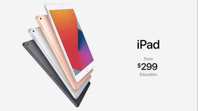 iPad 8th Gen releases, starting from $299