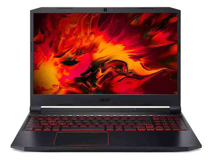 Acer Nitro 5 with 10th Gen Core i5 & GTX 1650Ti GPU discounted to ₹ 62,990 on Amazon Great Indian Festival
