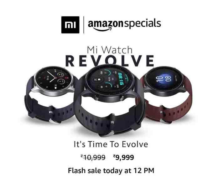 Mi Watch Revolve Flash Sale - 2_TechnoSports.co.in