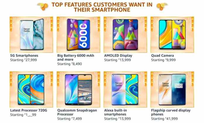 Never before Smartphone deals, you can get on Amazon Great Indian Festival sale__TechnoSports.co.in