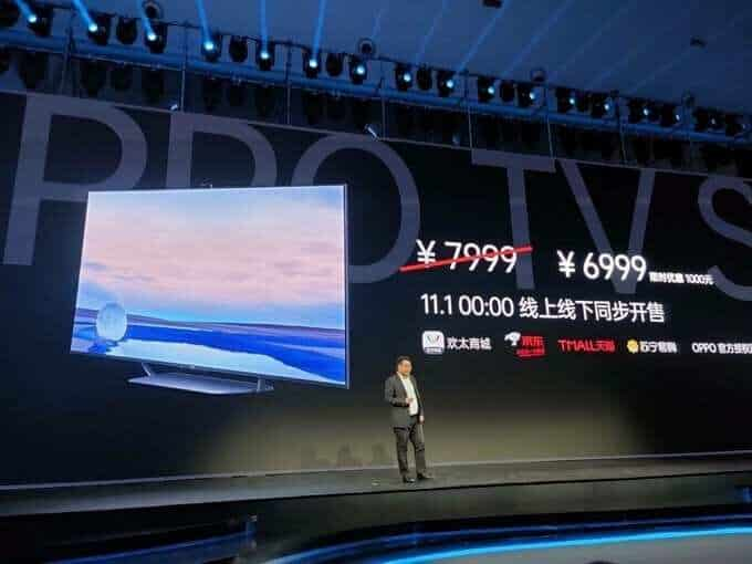 Oppo launches its first Smart TVs, coming with popup camera__TechnoSports.co.in