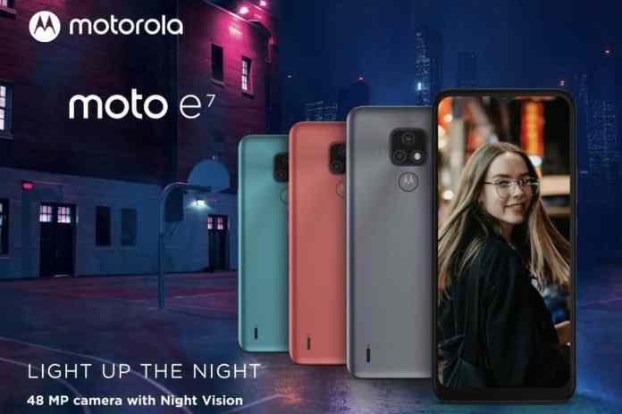 Moto E7 with dual rear cameras arrives in Europe and UK