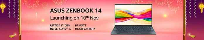 Asus Zenbook 14 with latest 11th Gen Intel processors to arrive