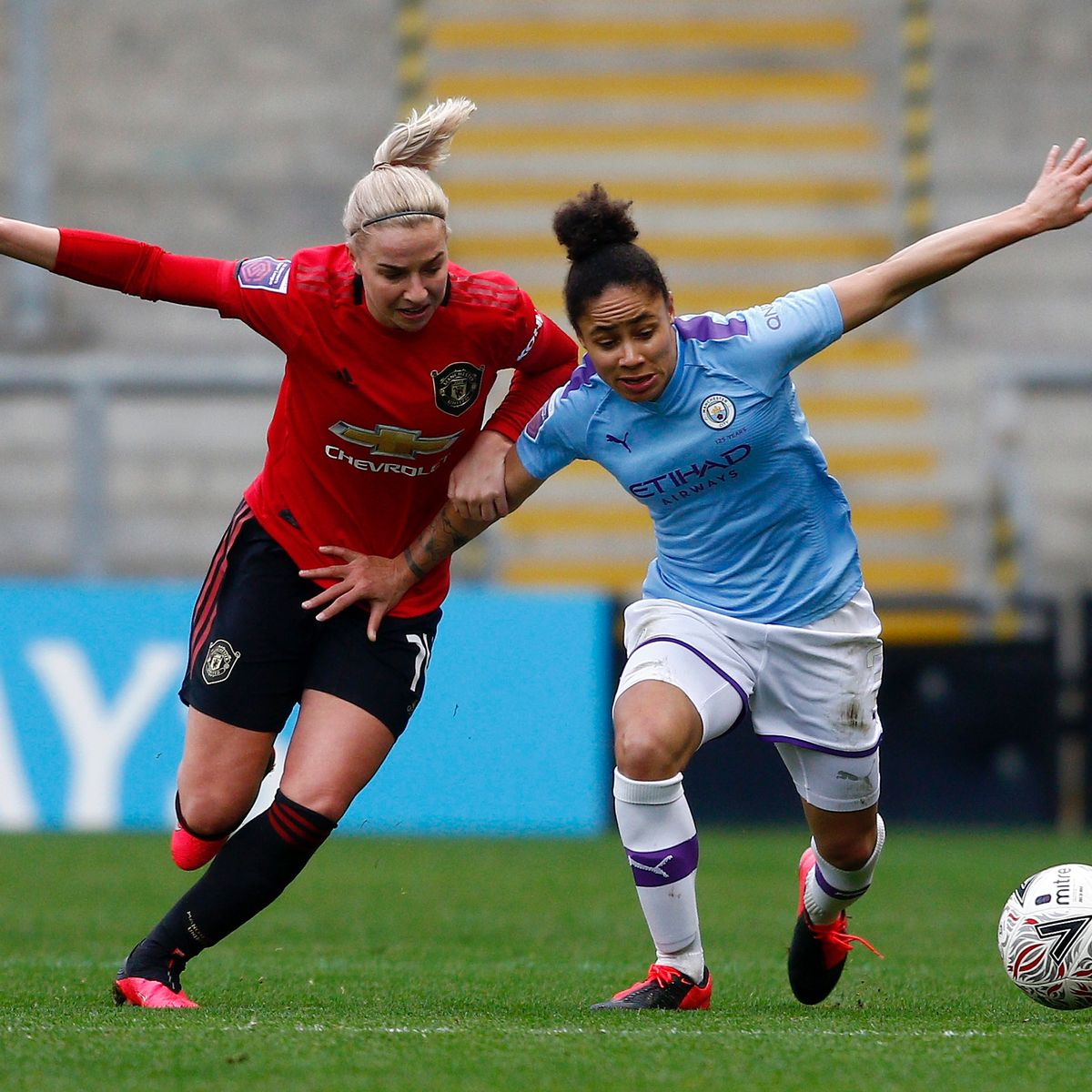 WSL Manchester derby can be viewed for FREE on Saturday