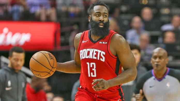 Harden is one of the best scorers in the league right now.