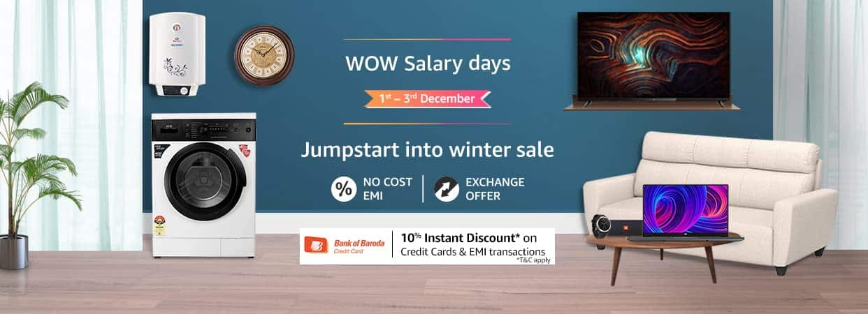 Amazon India announces 'WOW Salary Days'