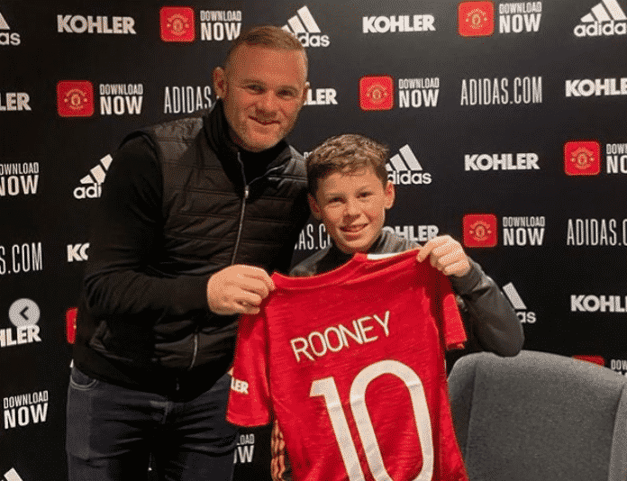 Like Father Like Son: Rooney Junior Joins Man United