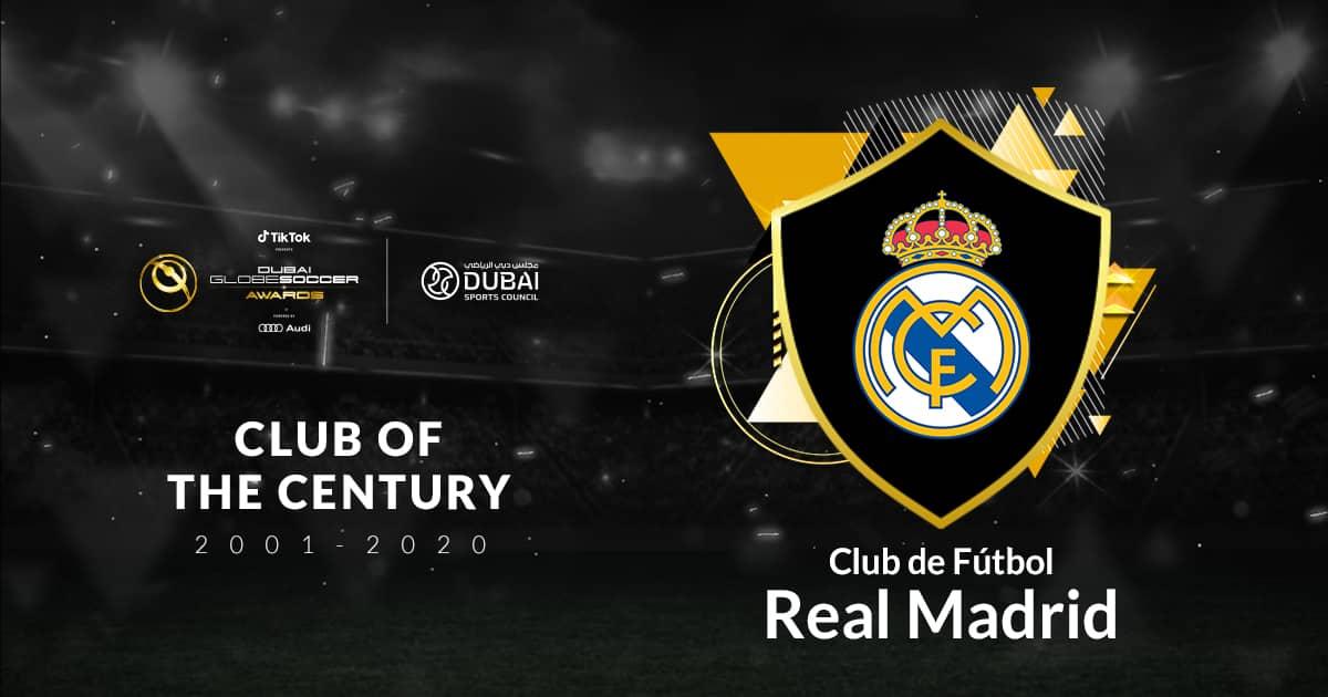 Real Madrid wins Club of the Century award at Globe Soccer Awards 2020 - TechnoSports