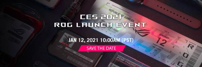 When and how to watch the CES 2021 ROG Launch event in India?