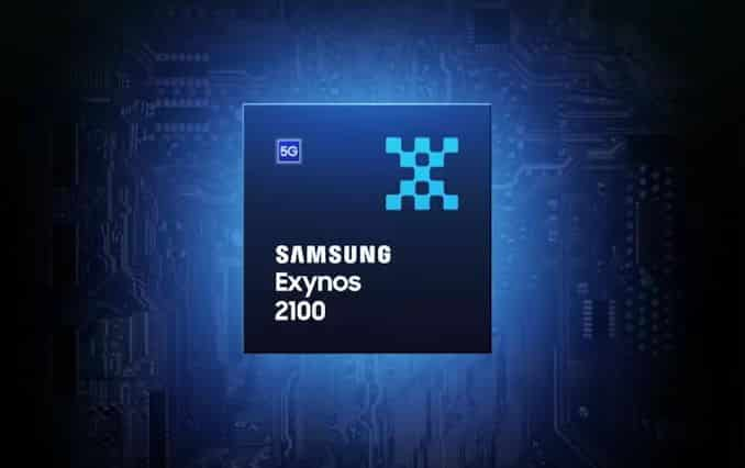 Samsung Exynos 2100 announced today with a built-in advanced 5G modem