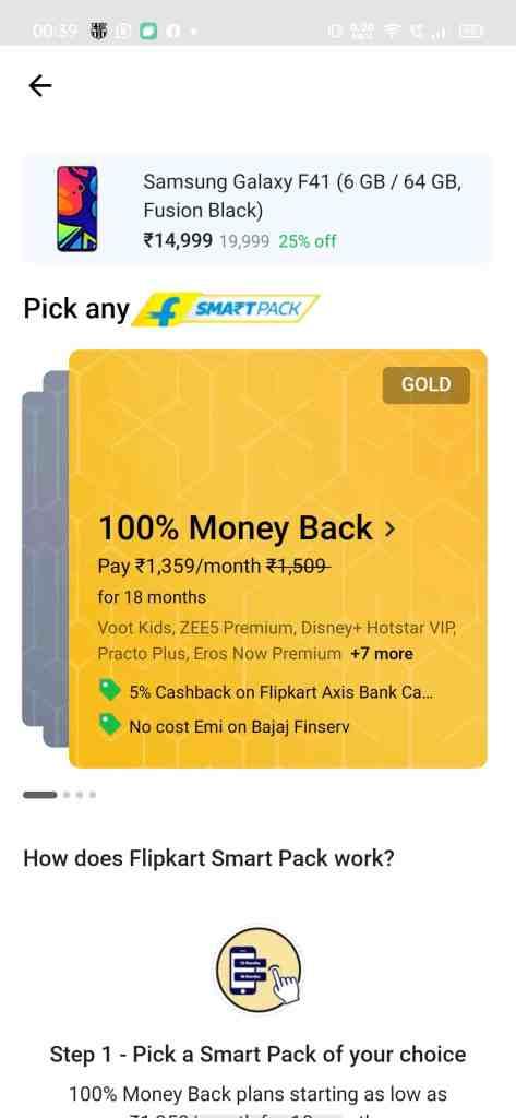 Is Flipkart SmartPack: 100% 'money-back' offer worth it or a scam?